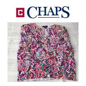 Chaps Beautiful Sweater. Sz M